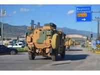 Suriye sınırına tank takviyesi