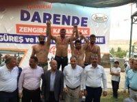 Darende'de Zengibar Karakucak Güreşleri