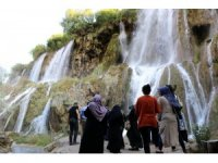 Girlevik Şelalesini bayram tatili süresince 500 binin üzerinde vatandaş ziyaret etti