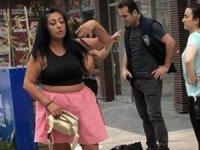 Bedava içki için ortalığı birbirine kattı! İşyeri sahibi kadına copla saldırdı