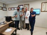 Irak'tan Hatem Hastanesine geldi, boyun fıtığından kurtuldu