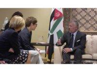 Ürdün Kralı II. Abdullah, Almanya Savunma Bakanı Leyen ile görüştü