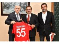 Büyükşehir meclis üyelerine Samsunspor forması