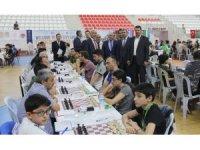 Sivas'ta Uluslararası Satranç Turnuvası düzenlendi