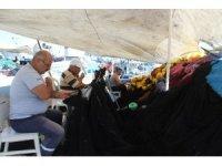 Balıkçılar av sezonuna hazırlanıyor