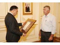 Şehit ailesine devlet övünç madalyası beratı verildi
