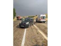 Trafik kazası 1'i ağır 4 yaralı