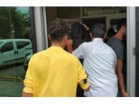 Samsun'da gasptan 3 tutuklama
