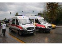 Başkentte otobüs kazası: 8 yaralı