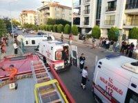 Otomobil ile servis aracı çarpıştı: 4 yaralı