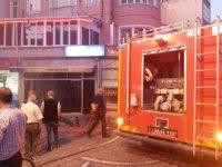 Lüleburgaz'da iş yeri yangını