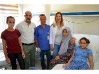 Suriye'deki savaştan kaçan engelli kıza yardım eli Didim'den uzandı