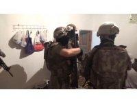Erzurum'da terör operasyonu: 14 şüpheli gözaltına alındı