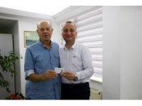 """Başkan Ayhan'dan şehrin gönüllülerine """"Gönüllü Kartı"""""""