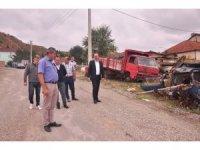 Başkan Kavaklıgil, Tosya'da Metal Sanayi Sitesini ziyaret etti
