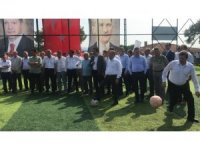 Etili Köyüne 400 öğrencinin faydalanabileceği halı saha kazandırıldı