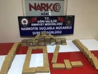 Ağrı'da 35 kilogram eroin ele geçirildi