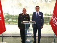 1'inci Ordu Komutanı Avsever'den İmamoğlu'na tebrik ziyareti!