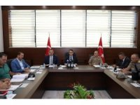 Elazığ'da İl Afet Koordinasyon toplantısı