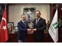 Eskişehir'in yeni Başsavcısı İrcal'dan Tepebaşı Belediye Başkanı Ataç'a ziyaret