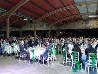 Çaycuma Kaymakamı Serkan Keçeli' ye veda yemeği düzenlendi