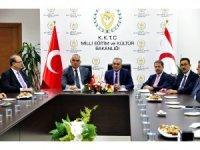 Kültür ve Turizm Bakanı Ersoy, KKTC Milli Eğitim ve Kültür Bakanlığı Çavuşoğlu ile görüştü