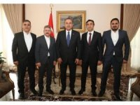 Cizre TSO'dan Dışişleri Bakanı Çavuşoğlu'na ziyaret