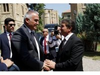 Kültür ve Turizm Bâkanı Ersoy, KKTC Turizm ve Çevre Bakanı Üstel ile görüştü