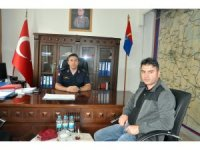 Üsteğmen Serdar Okcu görevine başladı