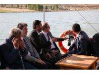 Vali Cüneyt Epcim, Demirözü Barajında incelemelerde bulundu