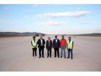Vali Epcim, Bayburt - Gümüşhane Havalimanı çalışmalarını yerinde inceledi