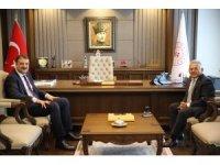 Başkan Büyükkılıç, Ankara'da bir dizi temasta bulundu