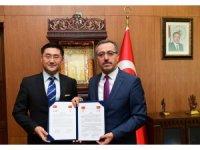 Kahramanmaraş'a Çin'den kardeş şehir
