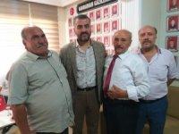 MHP heyeti şehit derneği ziyaretlerini sürdürüyor