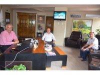 AK Parti İlçe Başkanı Yılmaz'dan Başkan Yaman'a ziyaret