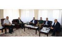 Memur-Sen Erzurum il yönetiminden Rektör Çomaklı'ya ziyaret