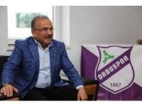"""Hilmi Güler: """"Orduspor efsanesi geri dönecek"""""""
