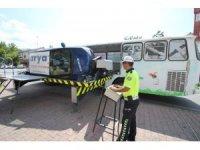 Hacılar'da güvenli sürüş eğitimi