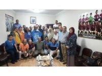 Trabzon basını Van Trabzonsporlular Derneği'ni ziyaret etti