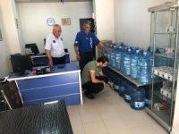 Hakkari'de ambalajlı su satışı yapan depolar denetlendi