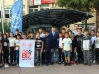 Aydın'dan 40 çocuk Kars'a gitti