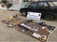 SİT alanında kazı yapan 4 kişi yakalandı