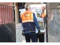 Elazığ'da eşyasız evde yaşayan aileye yardım eli