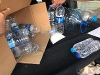 Kırşehir'de içki operasyonu 2.5 litre kaçak içki ele geçirildi