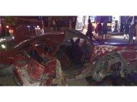 Başkent'te trafik kazası: 2 ölü 4 yaralı
