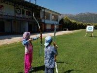 Eğirdir'de okçuluk kursuna büyük ilgi
