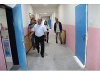 Kütahya Hüsnü Kişioğlu Ortaokulu'nda tadilat çalışması
