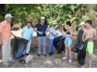 Tatil cennetinden 4,5 ton çöp çıktı