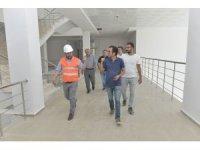 Rektör Akgül, inşaat alanlarında incelemelerde bulundu