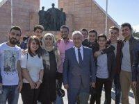 Atatürk Üniversitesi'nde kayıt heyecanı yaşandı